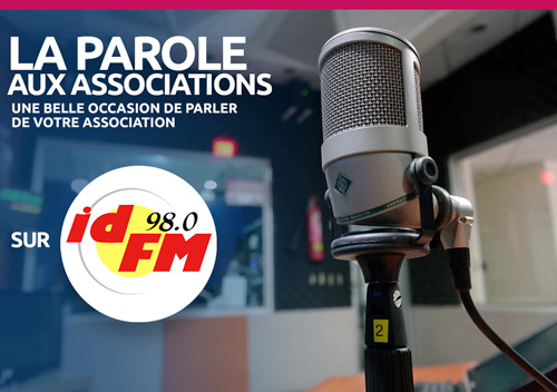 Emission radio la parole aux associations animée par le centre de services aux associations